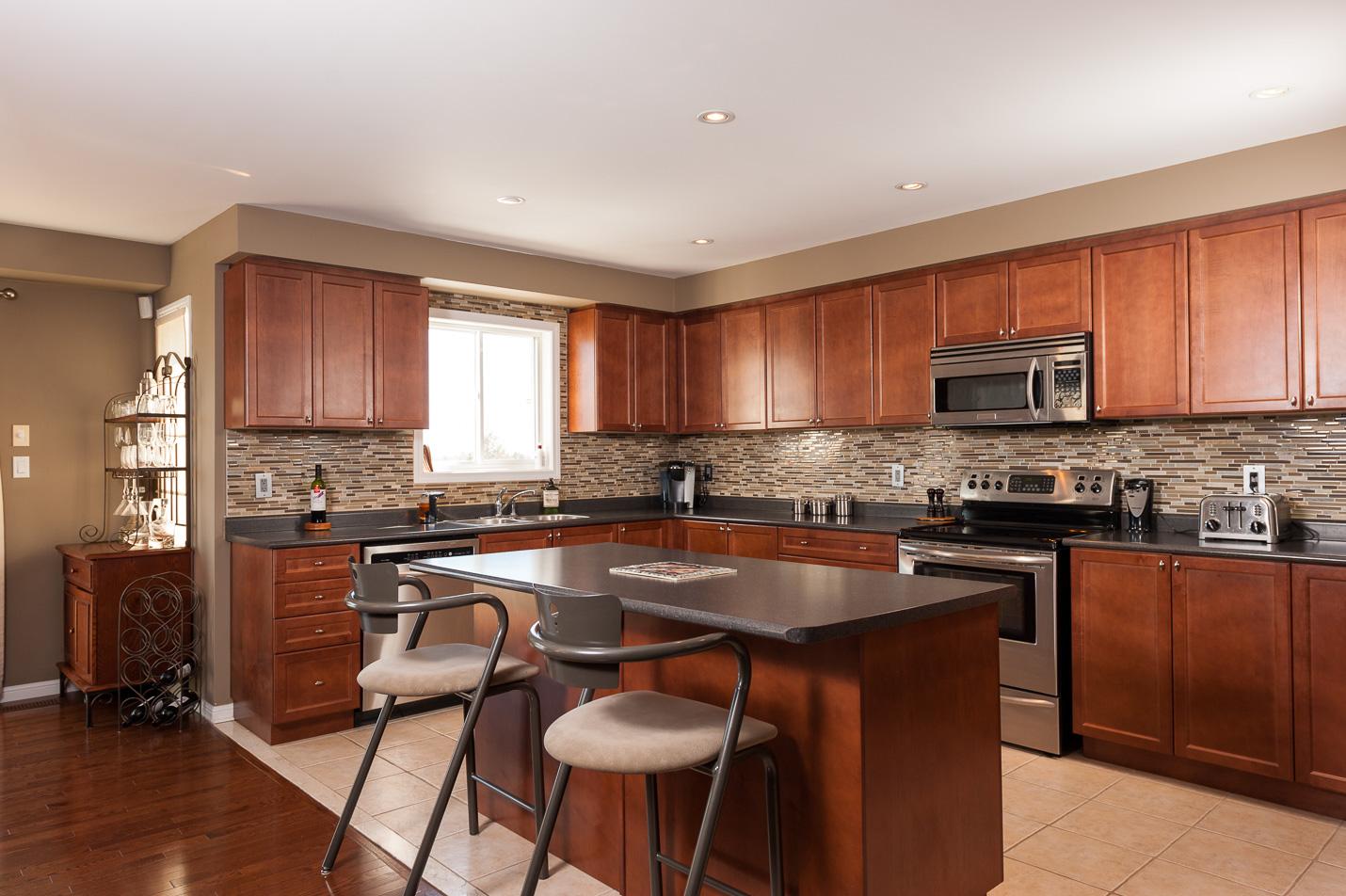 kitchen island peterborough interiors photograph interior photographer real estate photographer