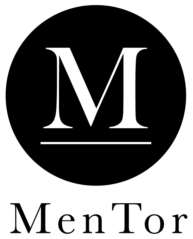 Mentor Application Vertical Logo and Text