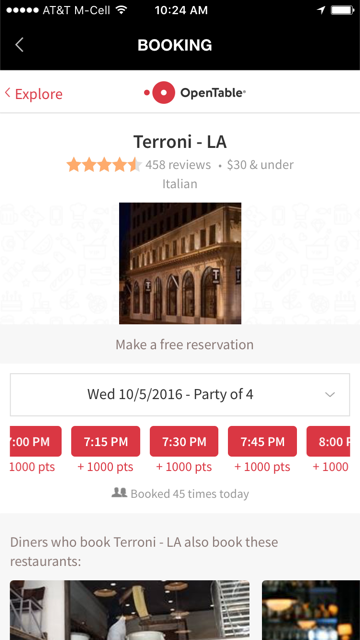OpenTable platfrom through MenTor.png