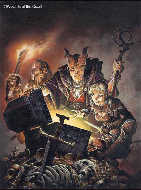 Adventurer's Vault 2 - By Wayne Reynolds ( waynereynolds.com )