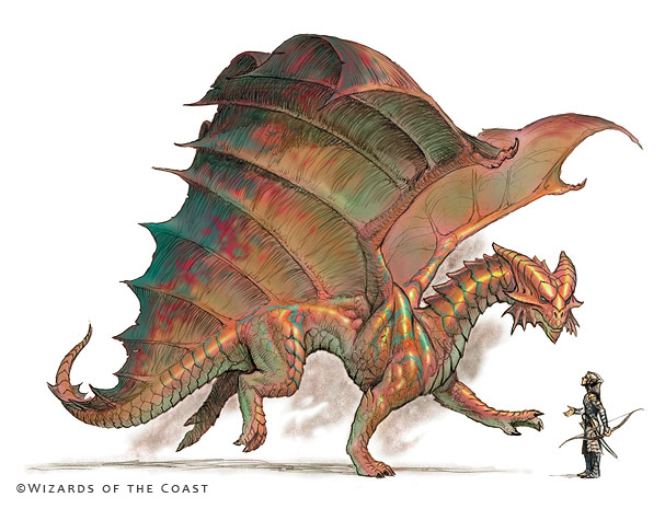Copper Dragon - By Todd Lockwood ( toddlockwood.com )