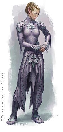 Elven Chain - By Todd Lockwood ( toddlockwood.com )