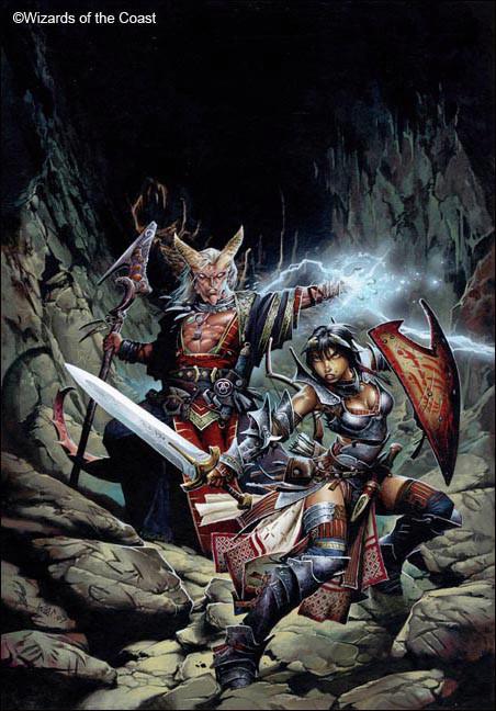 Dungeon Delve -By Wayne Reynolds ( waynereynolds.com )