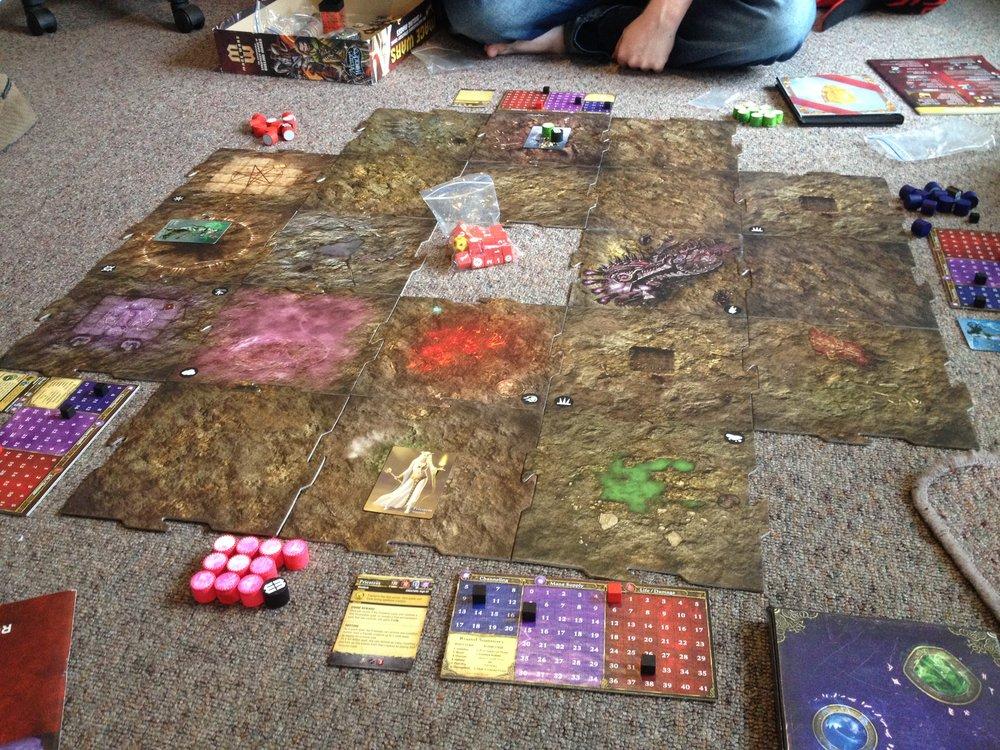 Mage Wars - Game Board.JPG