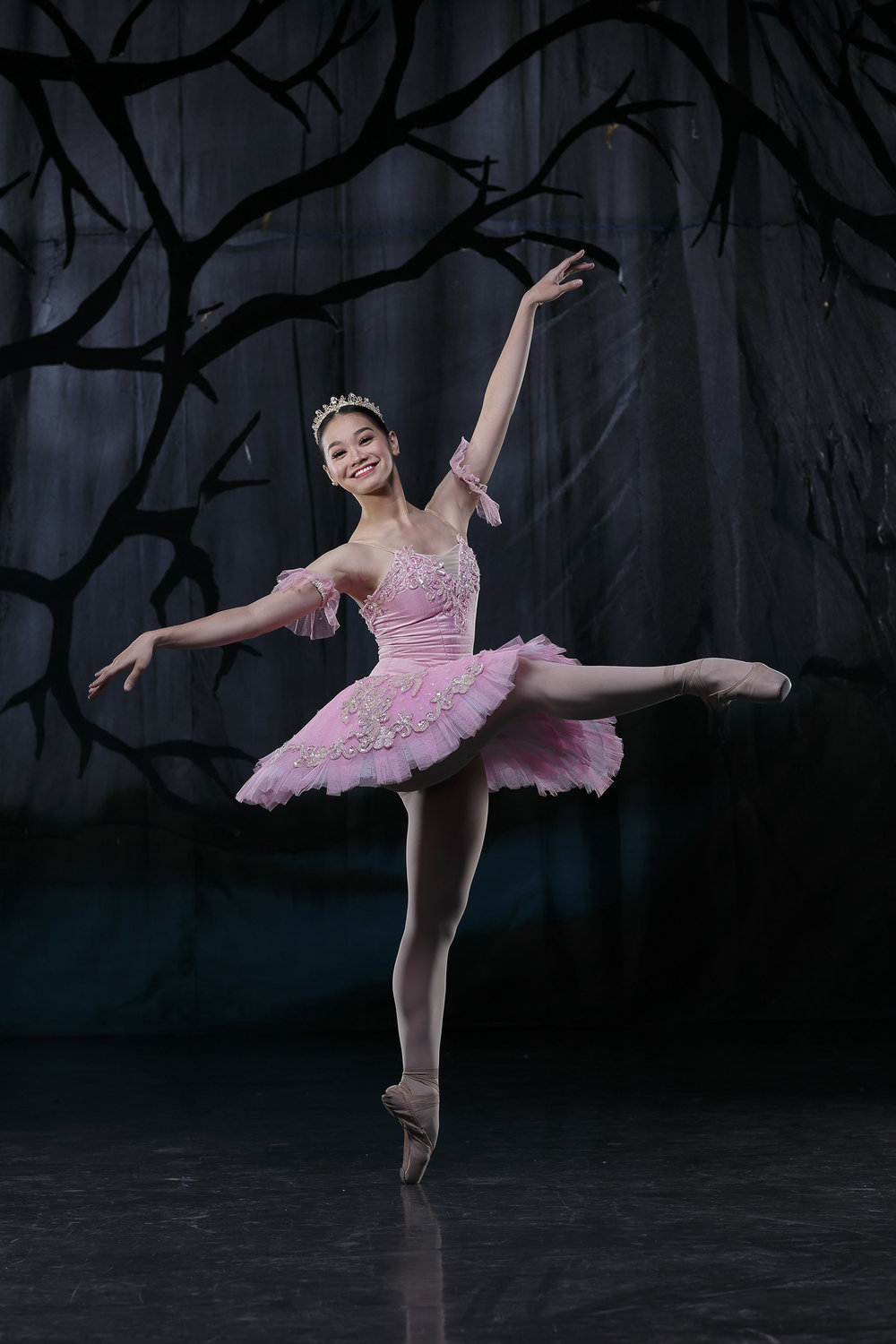 Being away from ballet made Dawna Reign Mangahas realize dancing is what she truly loves to do. She brings to life the Sugar Plum Fairy in    The Swan, The Fairy and the Princess   .