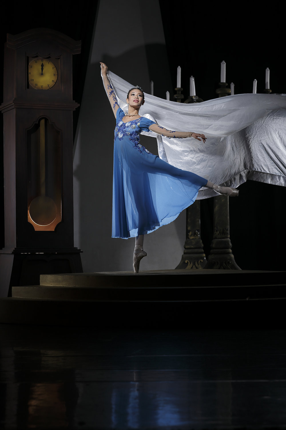 Abigail Oliveiro dances the title role in    Cinderella   , Ballet Manila's interpretation of the beloved fairy tale.
