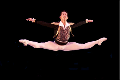 Soloist Rudolph Capongcol was a guest artist in another    Nutcracker    performance in San Francisco.