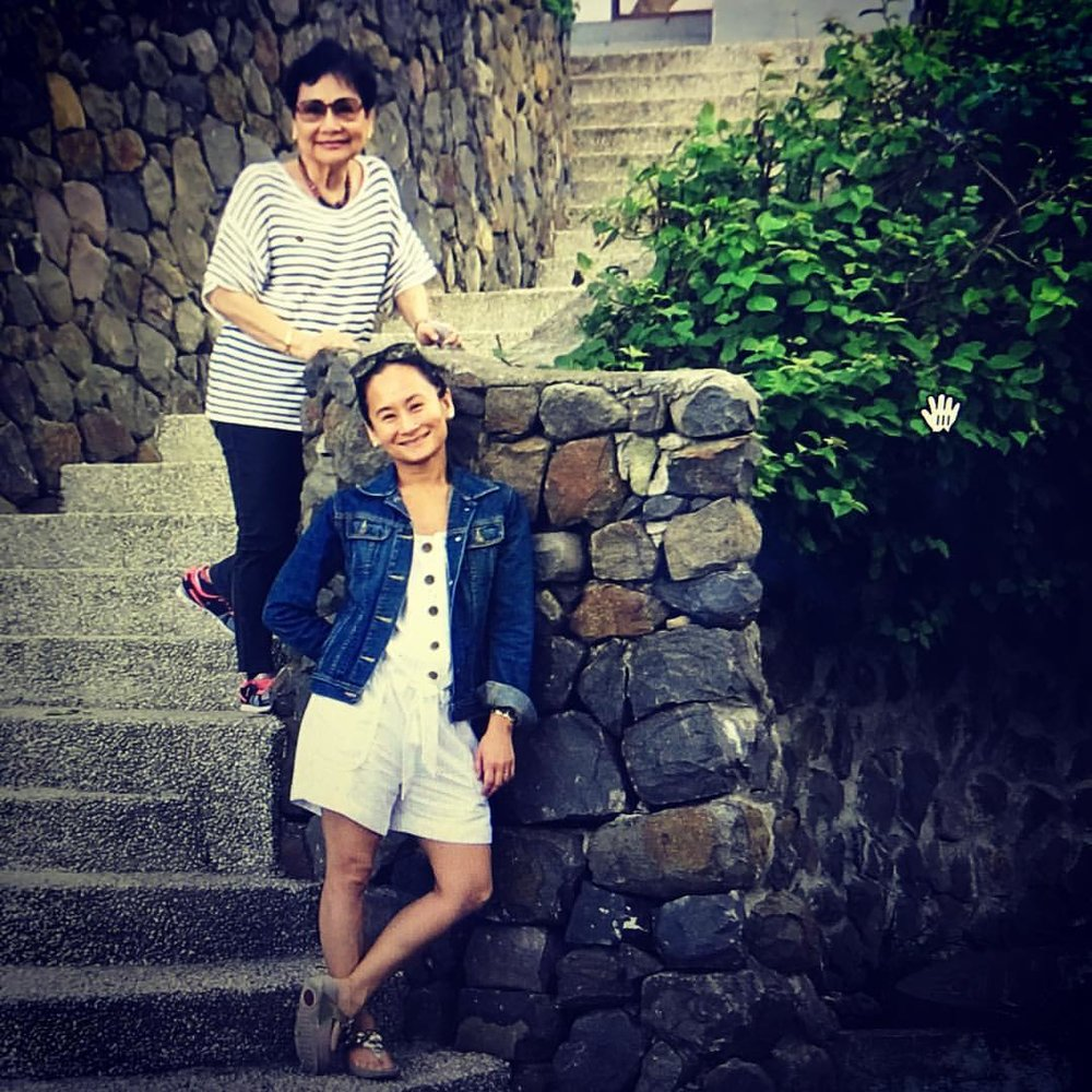 "Lisa Macuja posted this vacation photo on Instagram to greet her mom on Mother's Day in 2016, saying ""I love you very, very much! Thank you for the unconditional love you show me every single day!"""