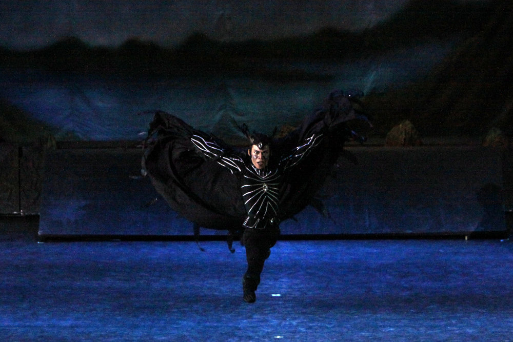 Francis is menacing as the evil sorcerer Rothbart in    Swan Lake    (2011).