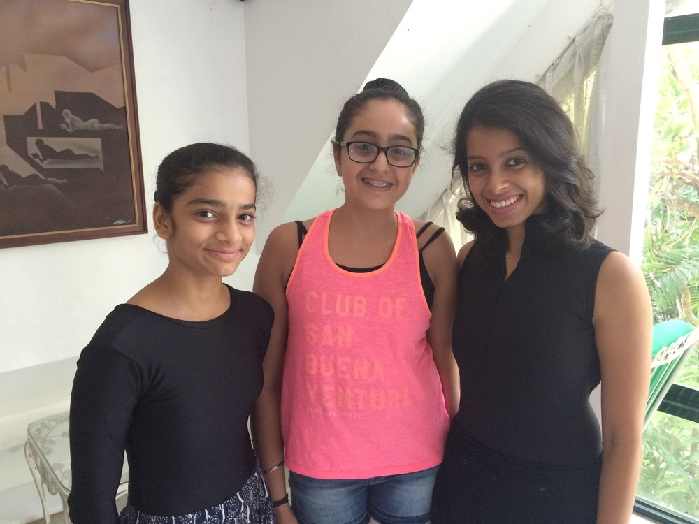 Deepika Ravindran is in Manila with two students from her Rhythmus Happy Feet school in Mumbai, Krisha Shah and Eesha Karnani.