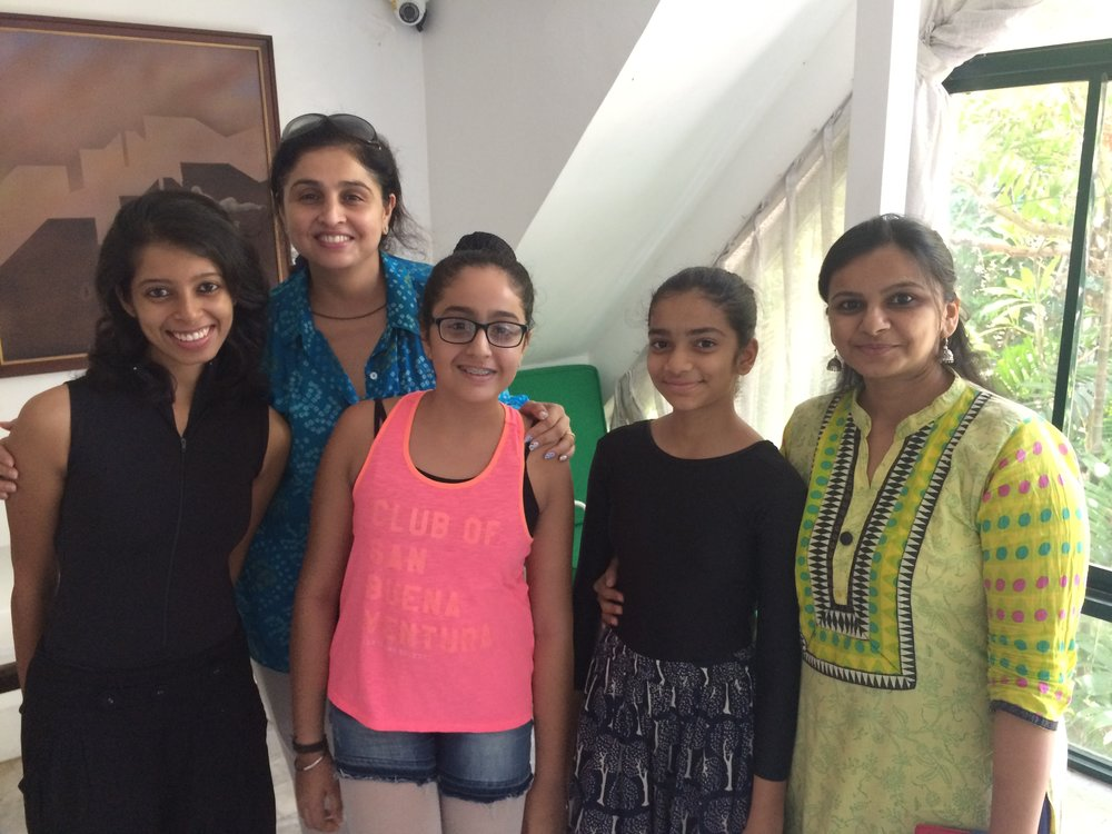 Deepika, Eesha and Krisha are joined by the girls' moms, Harsha Karnani and Minal Shah, who are happy their daughters are so immersed in dance this summer.