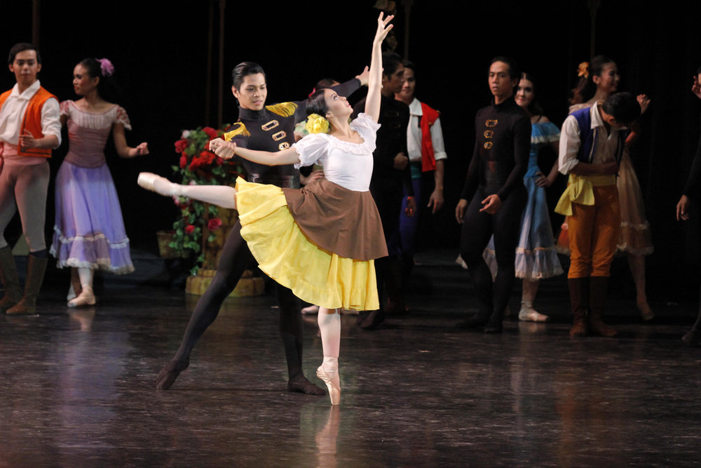One of Sofie's favorite roles is Micaela (opposite Mark Sumaylo's Jose) in    Carmen   . Photo by Ocs Alvarez