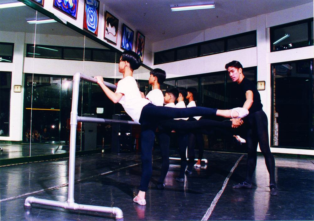 Osias Barroso has multi-tasked as a teacher, a dancer and a choreographer for the school's summer workshops over the years.