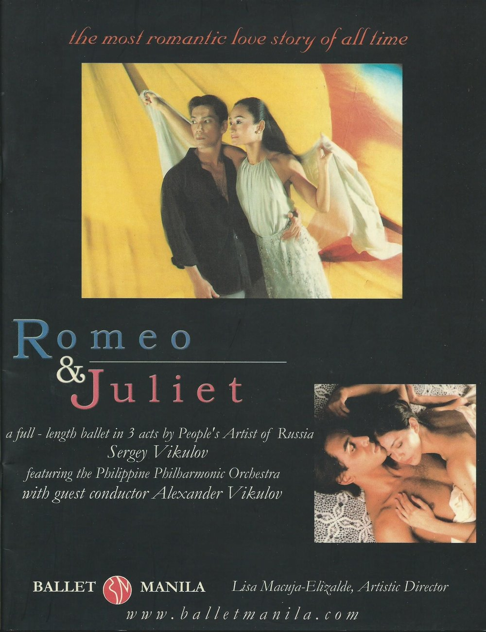 Ballet Manila's  Romeo and Juliet  in 2001 featured Fred's architectural concept for the set design, as credited in the show's souvenir program.