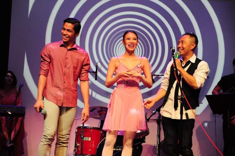Invited by director Chito Javier onstage after their performance in    Acts of Love   , Mark Sumaylo and Abigail Oliveiro take the chance to talk about Ballet Manila.