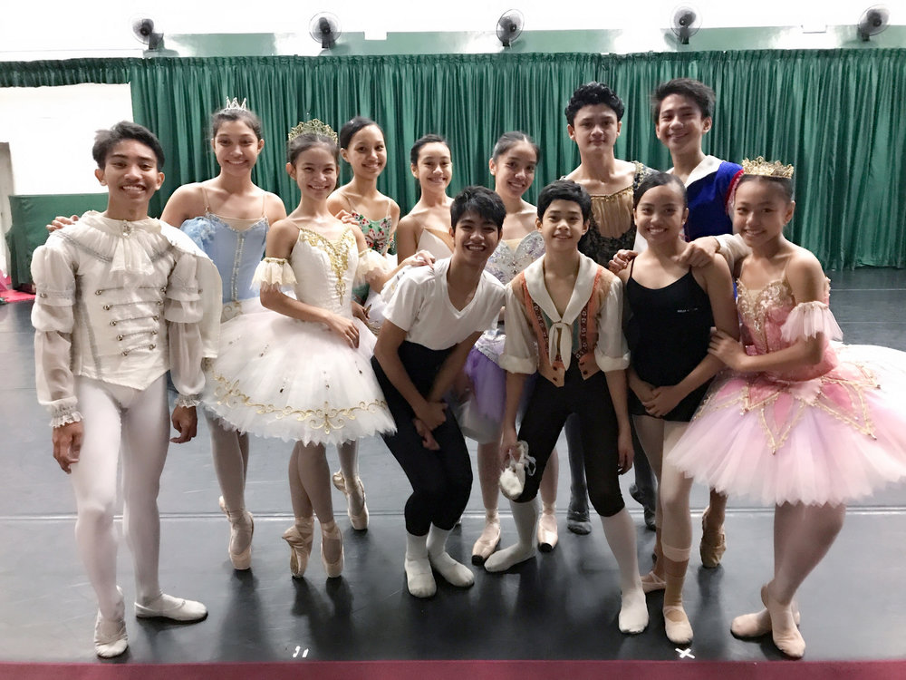 Twelve young dancers will be representing Ballet Manila in the upcoming Asian Grand Prix 2017 to be held in Hong Kong (Front row: John Carl Concepcion, Shaira Comeros, Alvin Dictado, Jos David Andes, Elyssabeth Apilado, and Loraine Gaile Jarlega; Back row: Monique Valera, Fiona Delos Santos, Ashley Salonga, Marinette Franco, Joshua Rey Enciso, and Brian Ramos Sevilla).