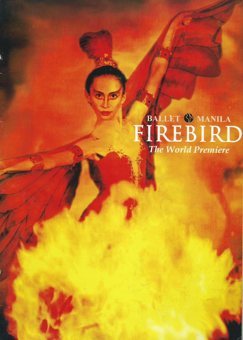 Firebird  – with production, libretto and choreography by Jean Paul Comelin – had its world premiere in September 2000. Photo courtesy of the Ballet Manila Archives