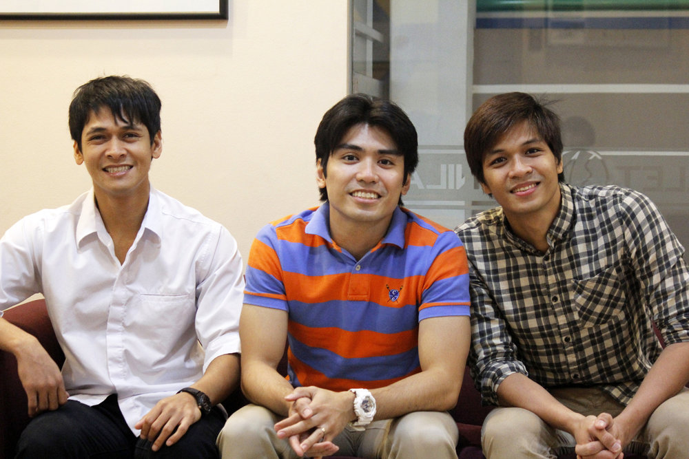 Ballet Manila danseurs Rudy de Dios, Romeo Peralta and Mark Sumaylo may be playing brothers in conflict in    Gerardo Francisco's Ibong Adarna    but in real life, they are kindred spirits. Photo by Jimmy Villanueva