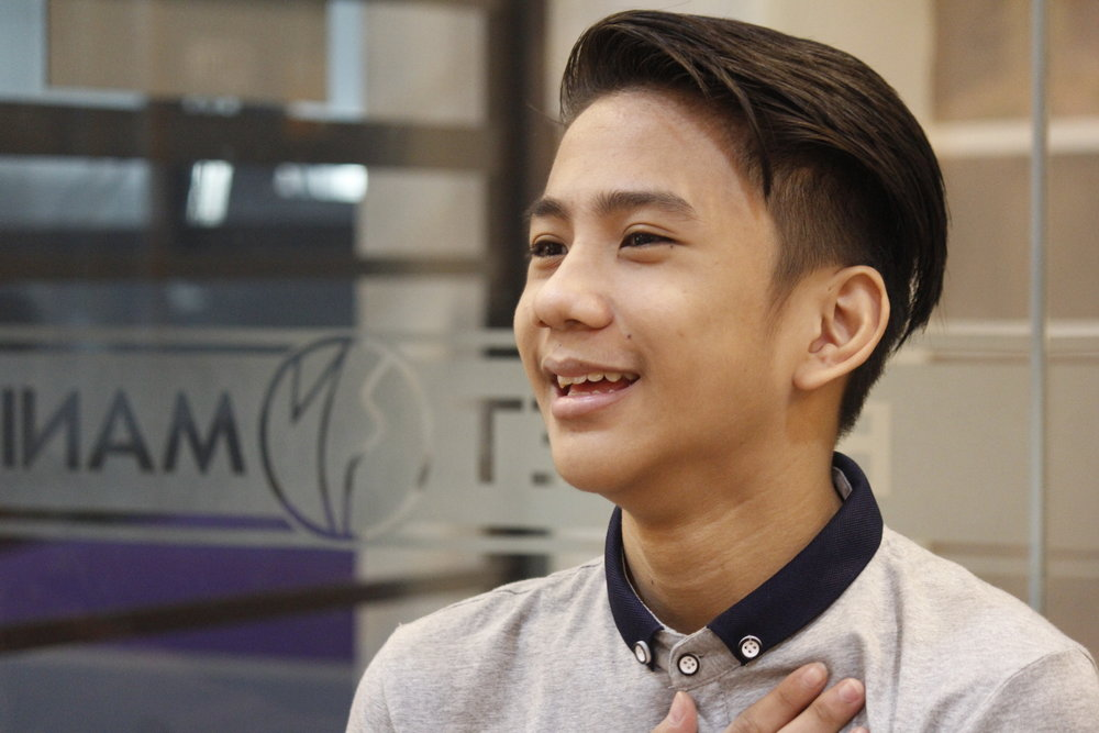 His natural flexibility combined with the strict discipline and training from Ballet Manila helped Brian achieve the 5th place and Sansha Award in the Junior B category of the    Asian Grand Prix 2015   . Photo by Jimmy Villanueva