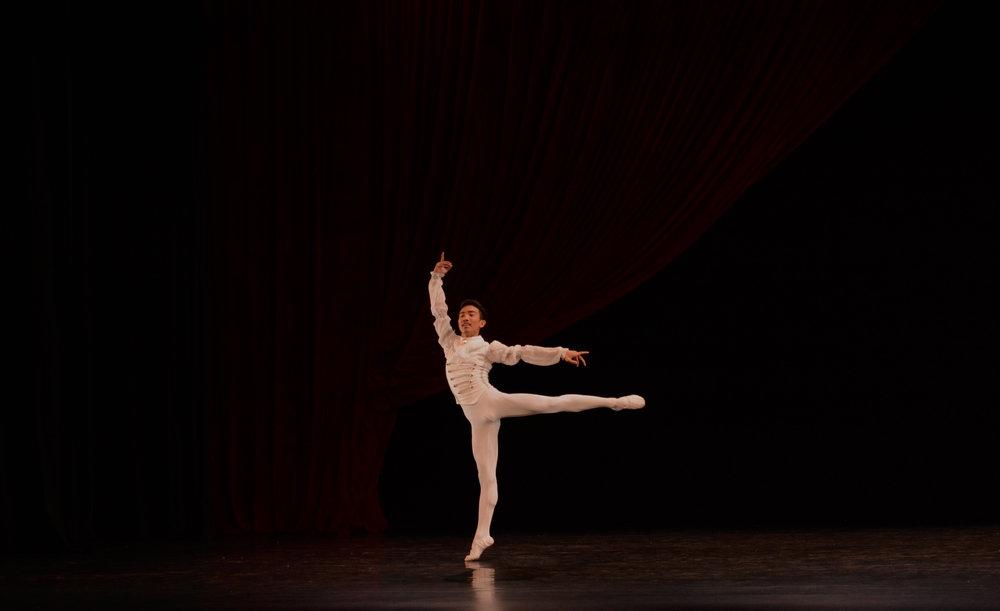 John Carl Concepcion, Competitor, Senior:    Prince Desiré Variation .     Photo by MarBi Photography