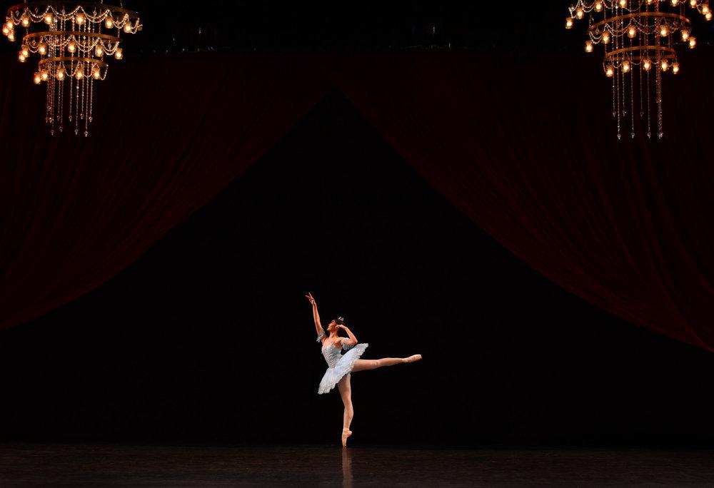 Monique Valera, Competitor, Junior A: Princess Florine Variation.Photo by MarBi Photography