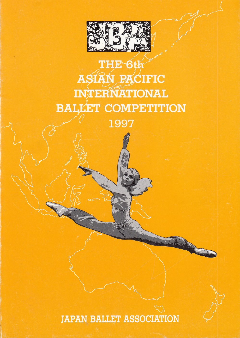 Souvenir program of the competition held in Tokyo, Japan. From the Ballet Manila Archives collection