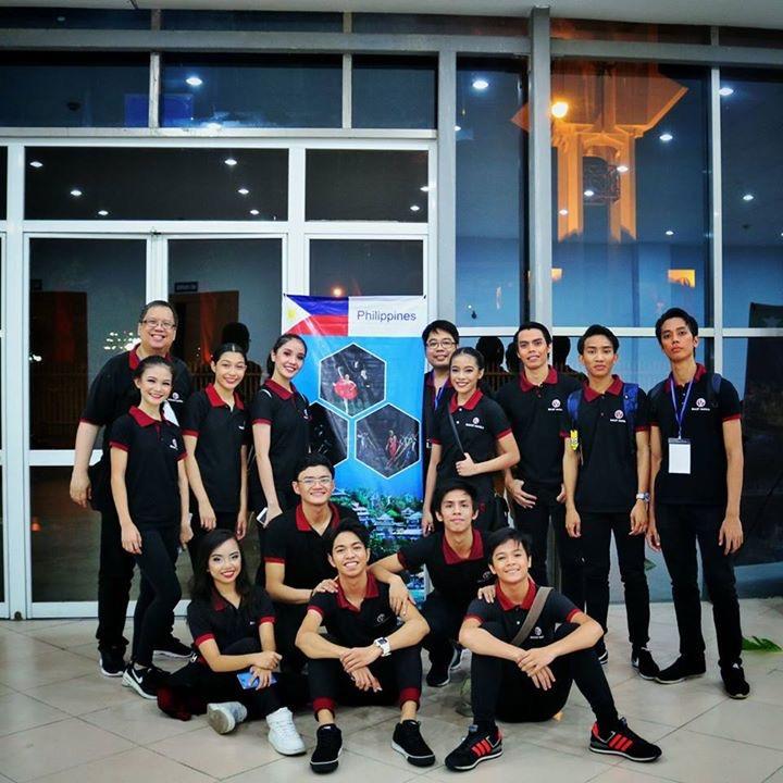 Ballet Manila's delegation to the International Dance Festival 2017 held in Ninh Binh Province, Vietnam. Photo courtesy of Joshua Enciso