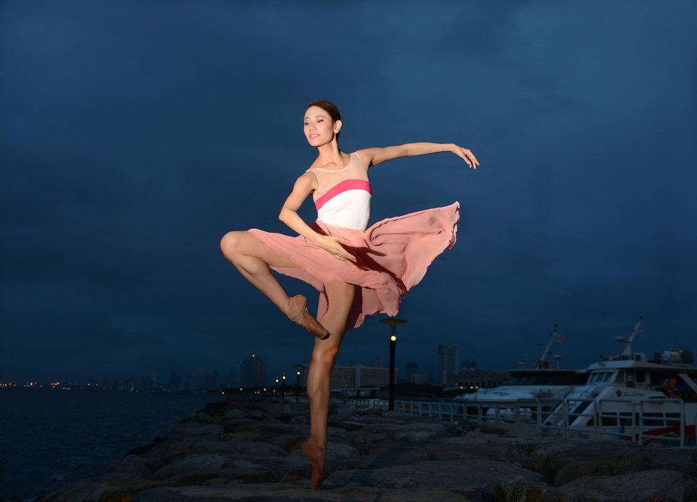 Ballet Dictionary - Retiré Passe Devant - Ballet Manila Archives