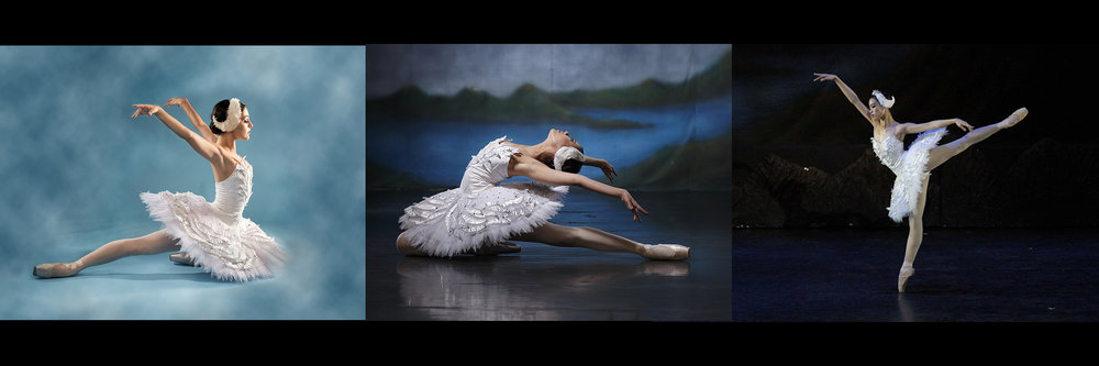 Ballet Manila's new Swans. Photos by G-nie Arambulo and Ocs Alvarez