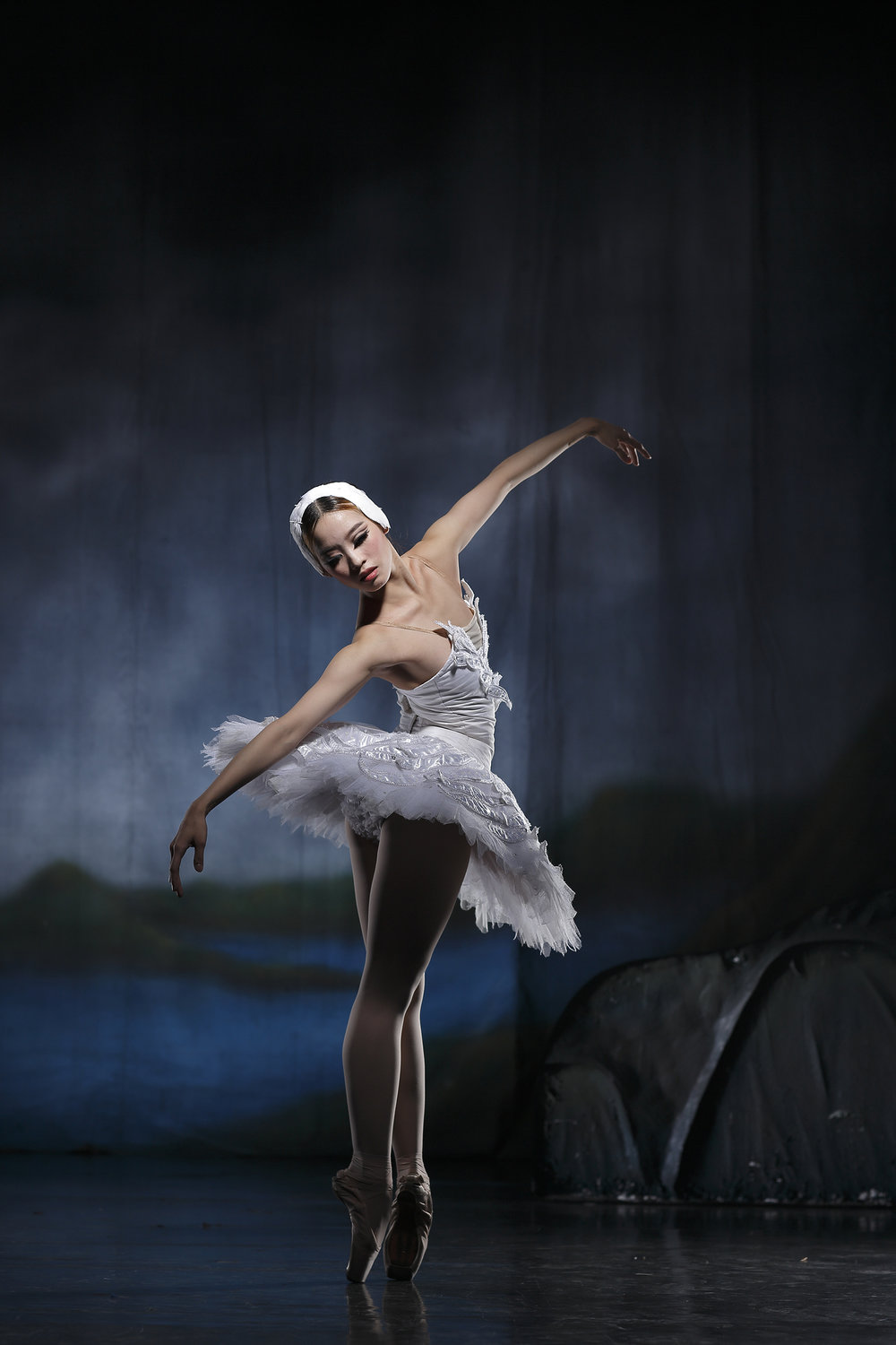 For Joan, dancing the lead role in    Swan Lake    for the first time in 2012 was a big confirmation for her of her place in ballet. Photo by Ocs Alvarez