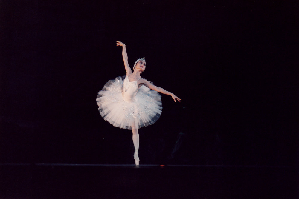 Odette is white, pure, soft and vulnerable. Photo of PBT's    Swan Lake    in 1994 from the Ballet Manila Archives collection