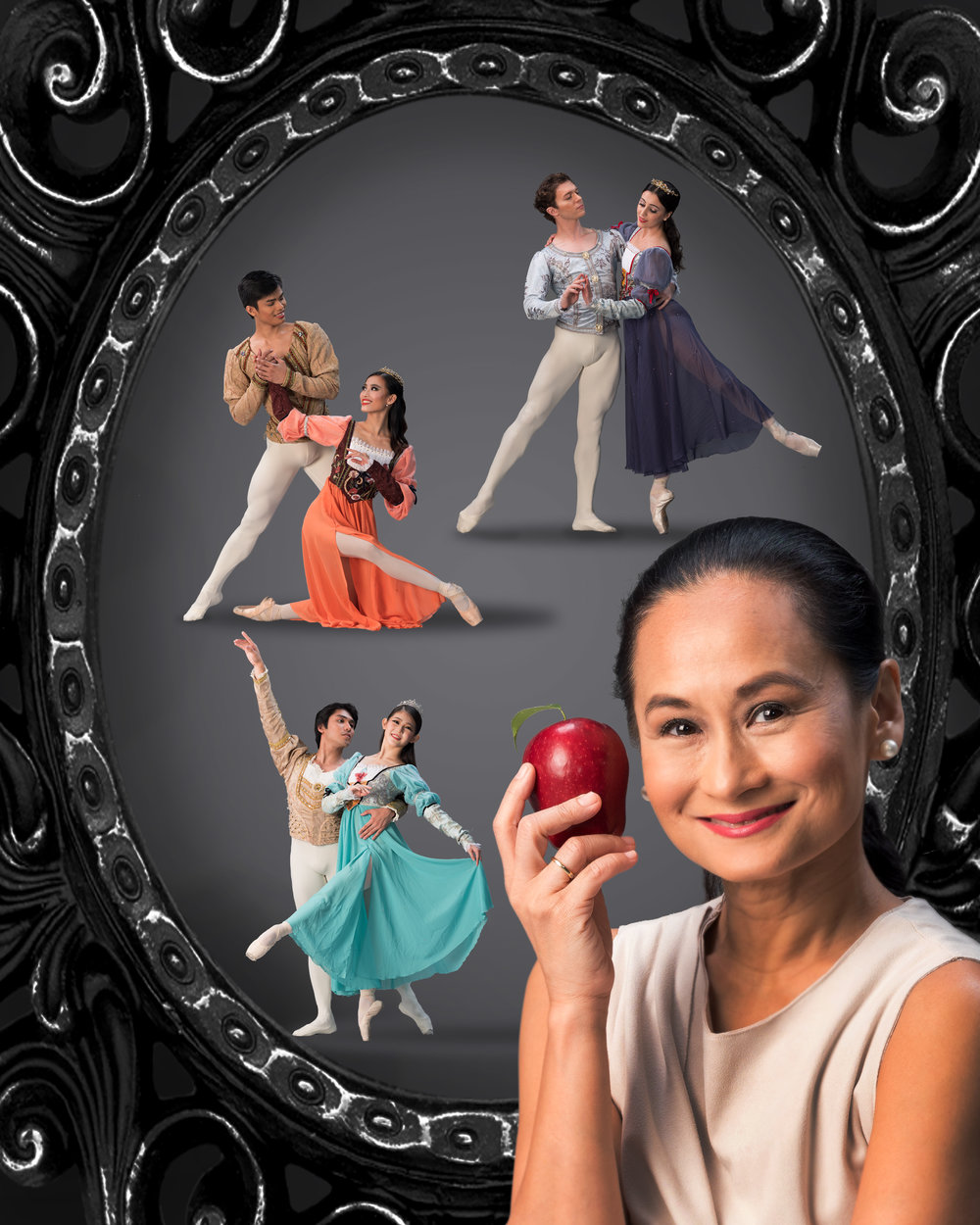 The animated Disney film    Snow White    was a huge part of Lisa Macuja-Elizalde's childhood. Now she has created her own ballet version of the fairy tale. Photo by G-nie Arambulo