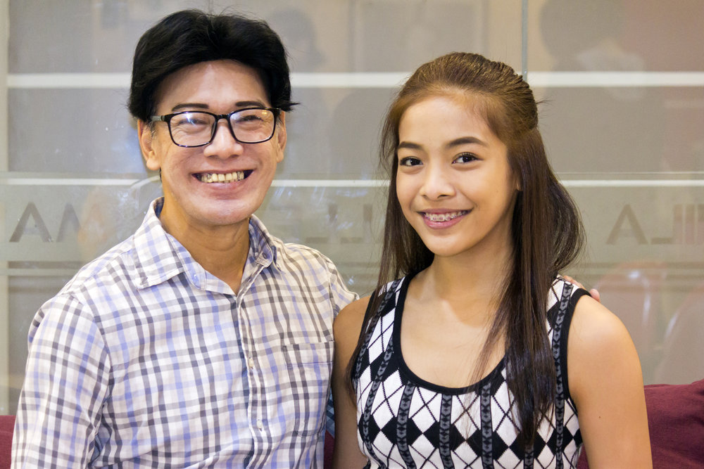 "Ballet Manila co-artistic director Osias ""Shaz"" Barroso and niece, company artist Nicole ""Neeka"" Barroso, have a shared passion for ballet. Photo by Jimmy Villanueva"