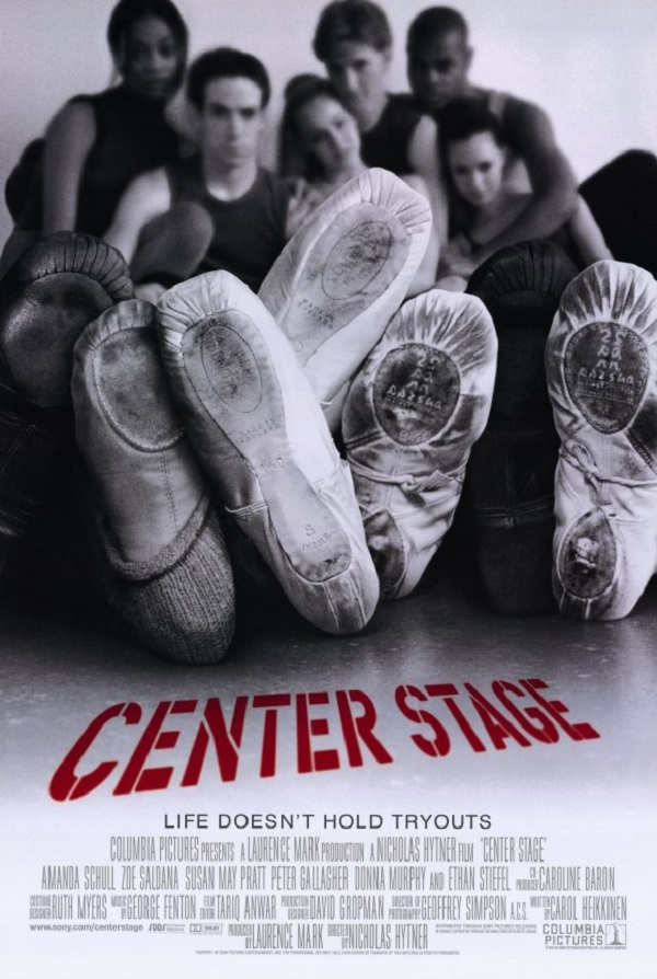 The powerhouse cast of    Center Stage    was composed mainly of professional dancers.
