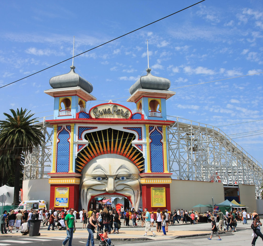 Luna Park is a historic amusement park offering thrill rides, a variety of food fare and assorted activities. Photo by Adam JWC