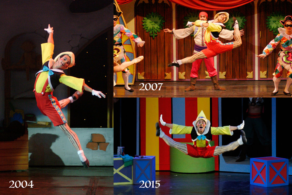 When Alvin was given the lead role in    Pinocchio    in 2002, he researched and rehearsed so he could portray it accurately. Since then, he has danced as the puppet-turned-boy numerous times.