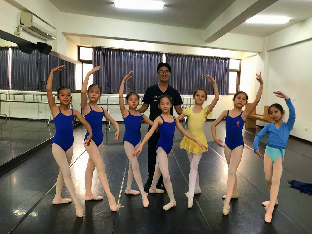 The students at Zhongli Youth Ballet are hardworking and diligent, says Barroso.