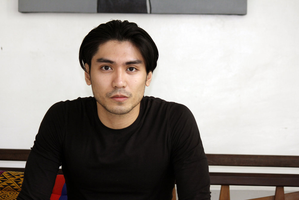 Romeo  Peralta says he kept trying one ballet level after the next that before he knew it, he had already been with Ballet Manila for 17 years. Photo by Jimmy Villanueva