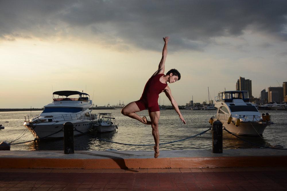 Ballet Dictionary - Temps Levé in Passe Derrière - Ballet Manila Archives