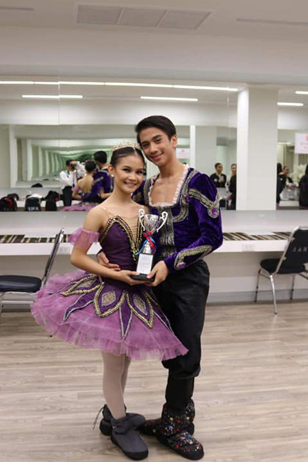 Shaira Comeros and Brian Sevilla won the bronze prize at the 2018 Australian Teachers of Dance (ATOD) International Dance Competition.