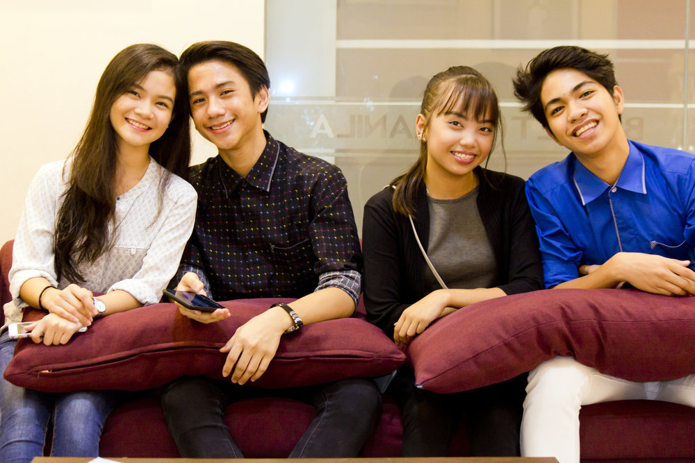 Ballet Manila's next generation: Shaira Comeros, Brian Sevilla, Lyssa Apilado and Alvin Dictado regroup in Manila for an interview after joining and winning in the ATOD Competition in Bangkok.