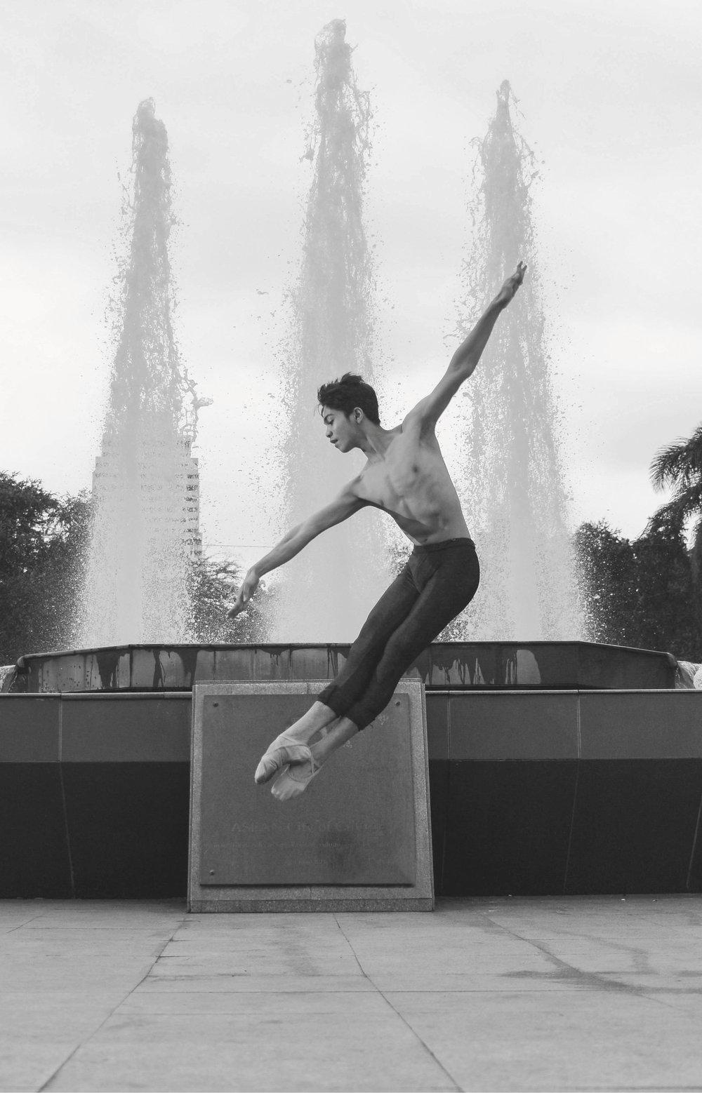 Ballet Dictionary: Brisé en avant - Ballet Manila Archives