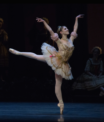 Hannah Bettes, soloist of     Boston Ballet