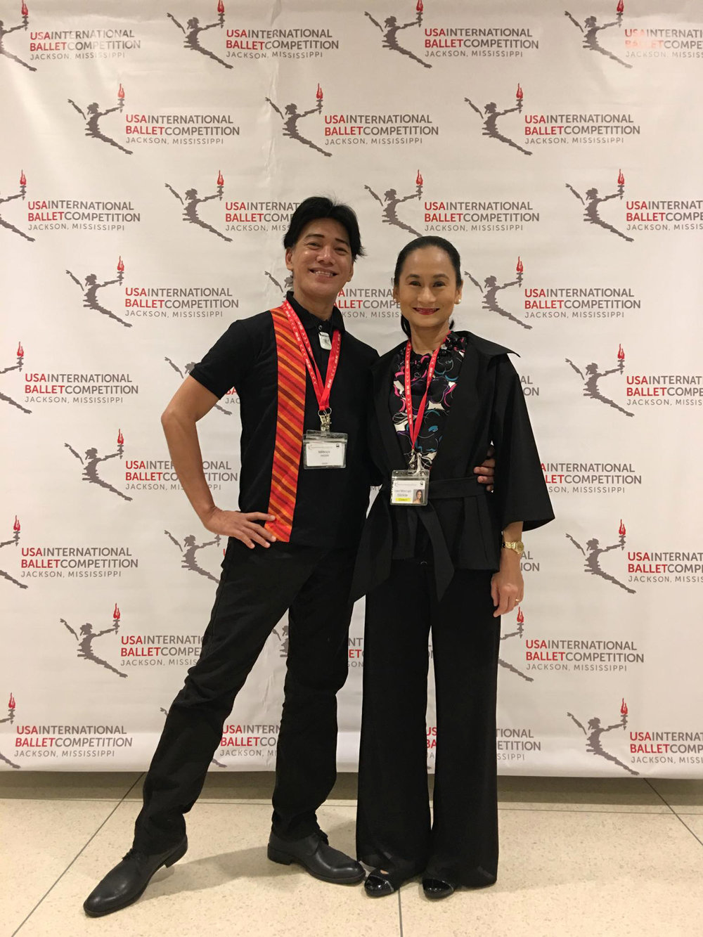 Partners on and off the stage, and now coaches too: Osias Barroso and Lisa Macuja-Elizalde are just happy to have been able to showcase Ballet Manila's Vaganova training.