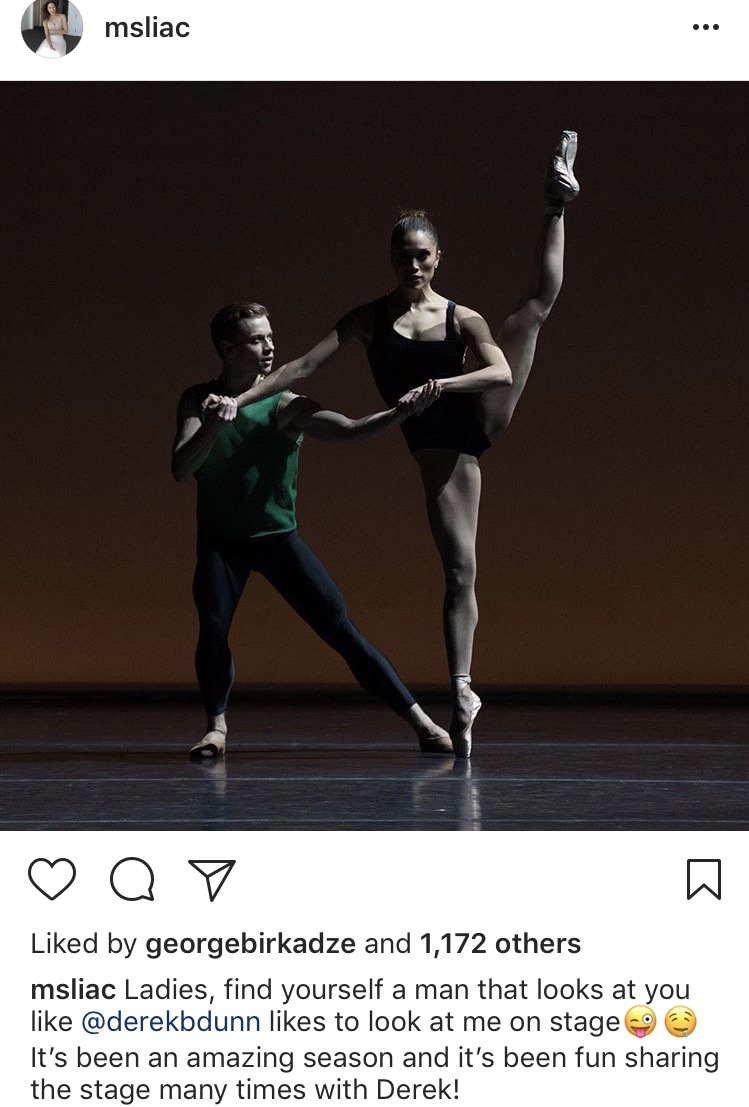 Lia Cirio was named by the digital media company Refinery29 as one of the top professional dancers' Instagrams to follow.