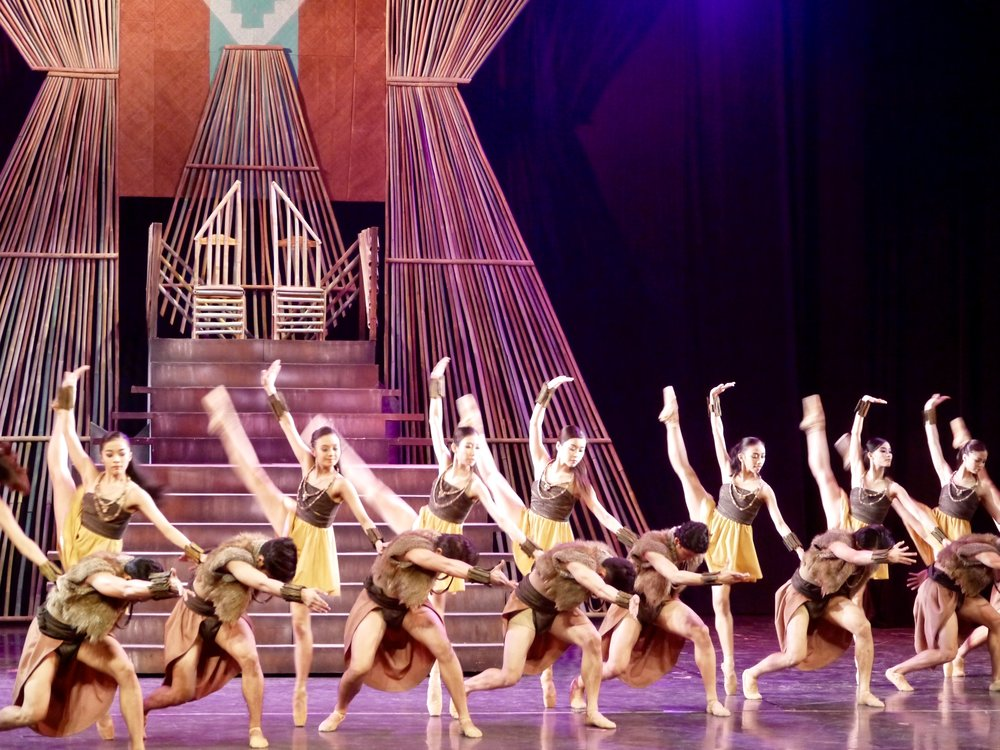 Ballet Manila makes its debut in Israel with Gerardo Francisco's    Ibong Adarna   , an epic retelling of a 15th century Filipino tale about a mythical bird with a healing voice.