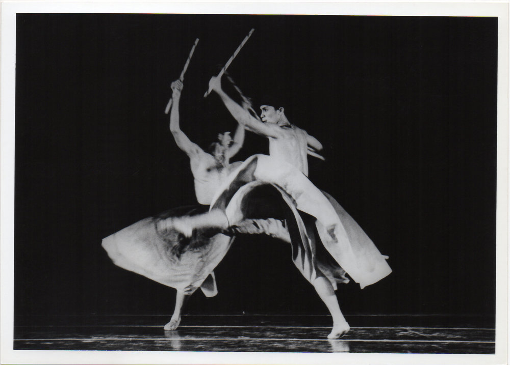 Ric Culalic's    Arnis    was one of three numbers that Ballet Manila performed during the festival's Philippine Night. Photo from the Ballet Manila Archives collection