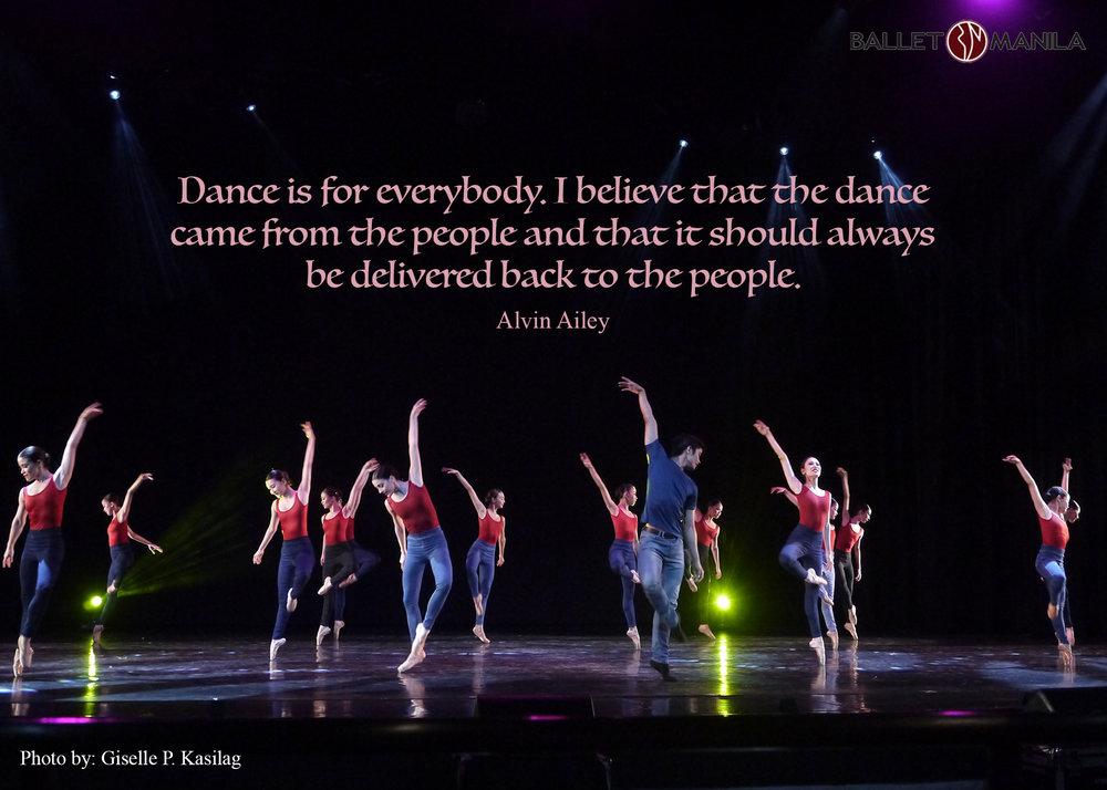 Talk about dance: Alvin Ailey