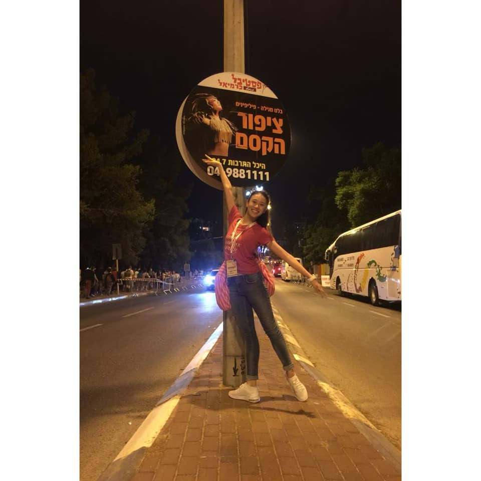 One of the thrills for Abigail Oliveiro was seeing circular posters announcing  Ibong Adarna  out in the streets. Photo by Mark Sumaylo