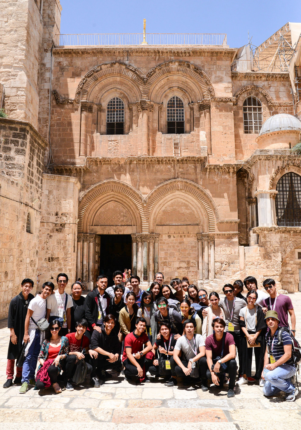 The trip was doubly special as the group was also able to visit some of the most revered spots in the Holy Land. Photo by Mark Sumaylo